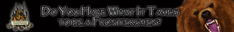 Do you have what it takes to be a Frontiersmen?
